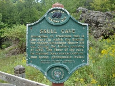Skull Cave Marker image. Click for full size.