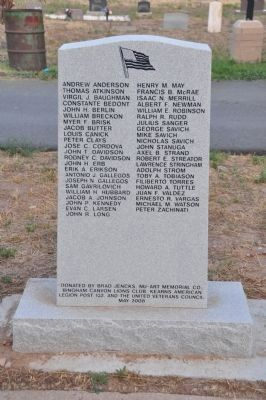 Those Who Died in the Wars image. Click for full size.