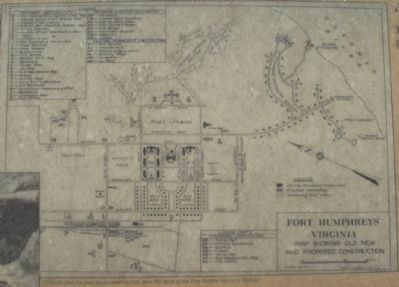 Map of Fort Humphreys image. Click for full size.