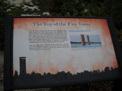 The Top of the Fire Tower Marker image. Click for full size.