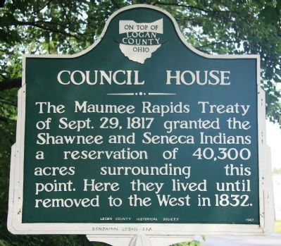 Council House Marker image. Click for full size.