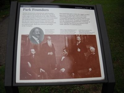 Park Founders Marker image. Click for full size.