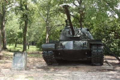 M48 Tank, Combat, 90MM Gun image. Click for full size.