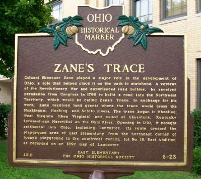 Zane's Trace Marker image. Click for full size.