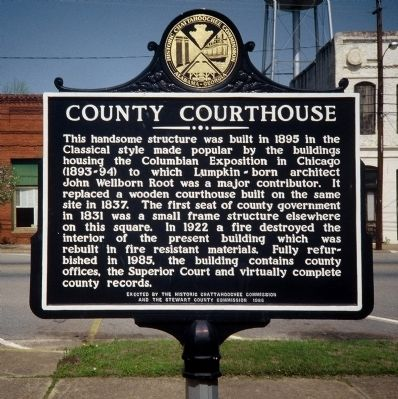 County Courthouse Marker image. Click for full size.
