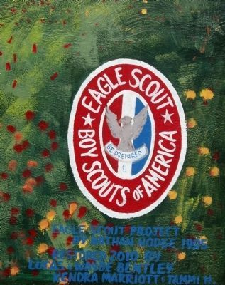 Eagle Scout - Boy Scouts of America image. Click for full size.