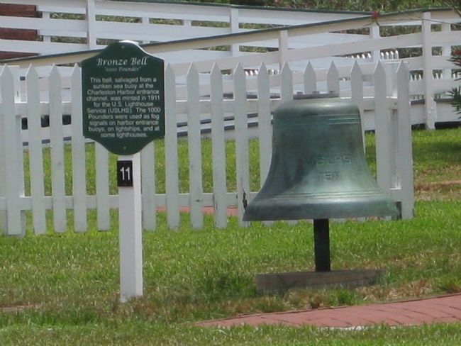 Bronze Bell and Marker image. Click for full size.