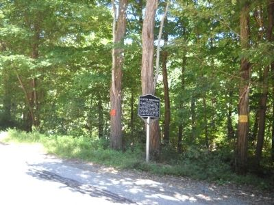 Marker on Clinton Road image. Click for full size.