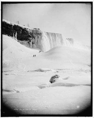 """The Ice Mountain, Niagara"" image. Click for full size."