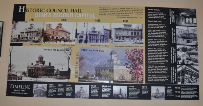 Old City Hall Timeline image. Click for full size.