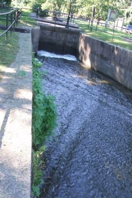 Water in Delaware Canal image. Click for full size.