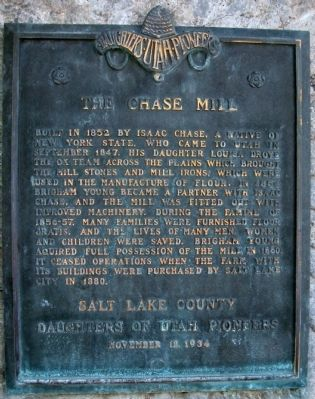 Chase Mill Marker image. Click for full size.