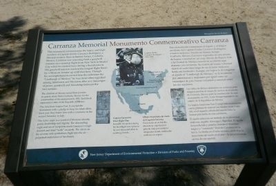 Carranza Memorial Marker image. Click for full size.