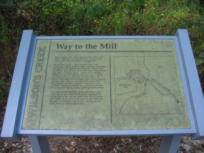 Way to the Mill Marker image. Click for full size.