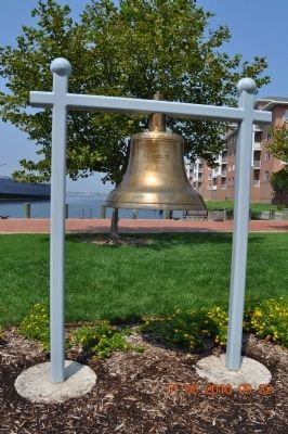 USS Norfolk Bell Marker image. Click for full size.
