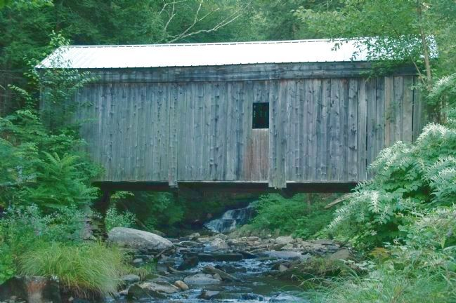 Copeland Covered Bridge image. Click for full size.