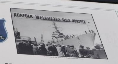 USS Norfolk Battle Ship image. Click for full size.