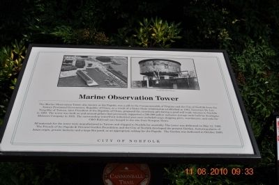 Marine Observation Tower Marker image. Click for full size.