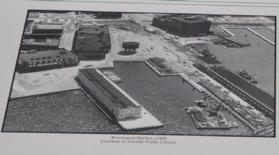 Freemason Harbor, c1980 image. Click for full size.
