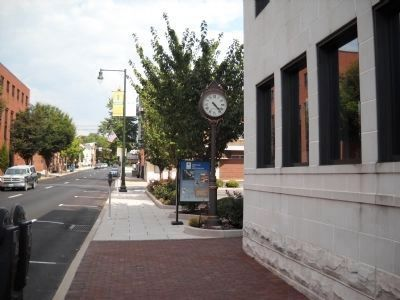 Marker in Chambersburg image. Click for full size.