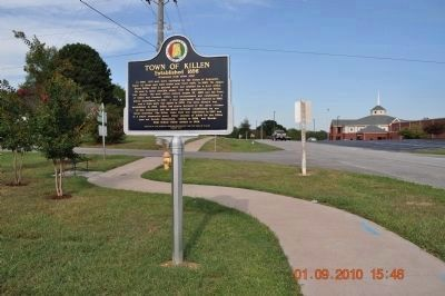 Town of Killen Marker image. Click for full size.
