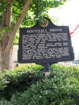 Southall Drugs Marker image. Click for full size.