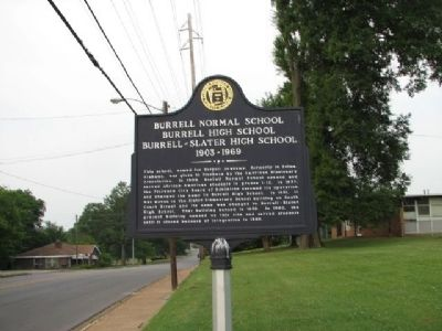 Burrell Normal School Marker image. Click for full size.