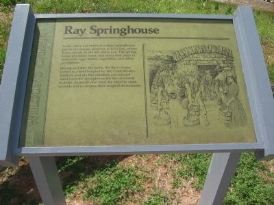 Ray Springhouse Marker image. Click for full size.