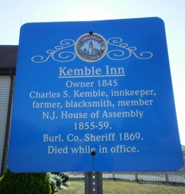 Kemble Inn Marker image. Click for full size.