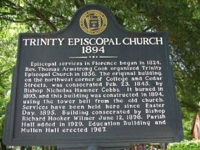 Trinity Episcopal Church 1894 Marker image. Click for full size.