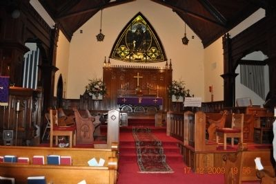 Trinity Episcopal Church Inside Church image. Click for full size.