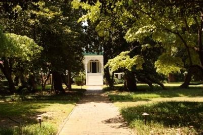 The Home of Charles Jones Jenkins, Jr., as seen from Cumming Road image. Click for full size.