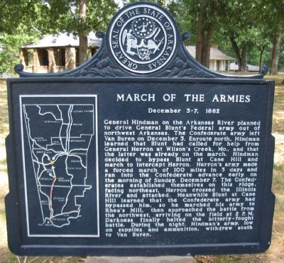 March of the Armies Marker image. Click for full size.