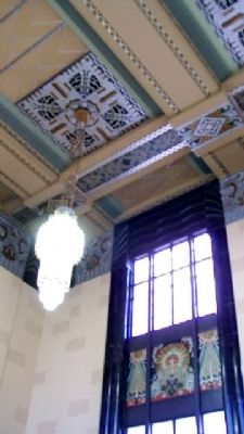 Omaha Union Station Art Deco Features image. Click for full size.