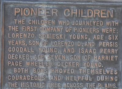 Pioneer Children image. Click for full size.