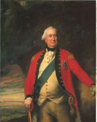 Charles Cornwallis, First Marquis of Cornwallis<br>(1738 - 1805) image. Click for full size.