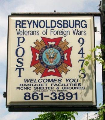 VFW Post 9473 Sign image. Click for full size.