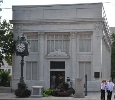 The Building Now Houses a Branch of Zion's First National Bank image. Click for full size.