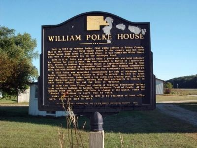 William Polke House Marker image. Click for full size.