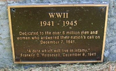VFW Post 9473 War Memorial image. Click for full size.