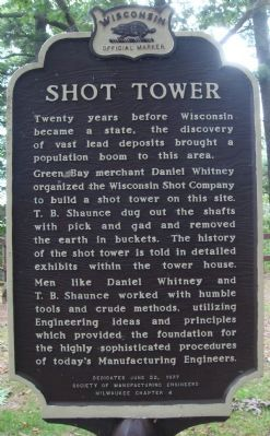 Shot Tower Marker image. Click for full size.