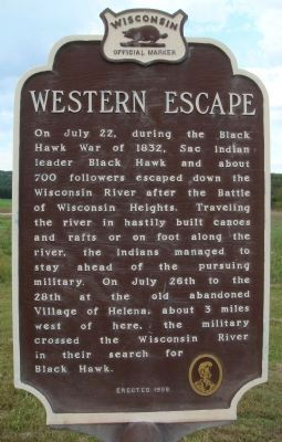 Western Escape Marker image. Click for full size.