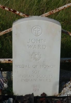 John Ward, Medal of Honor image. Click for full size.