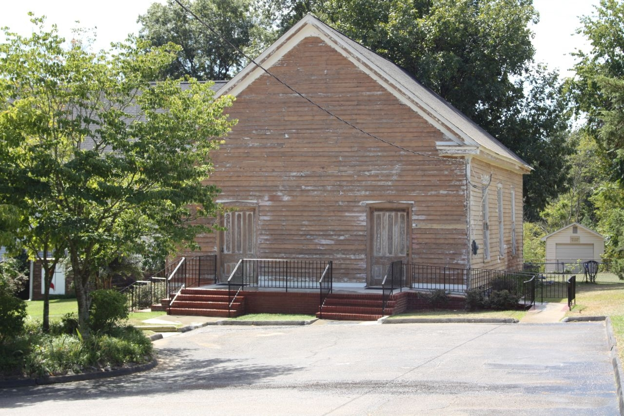 Liberty Methodist Church , as seen today