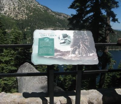 Da ow a ga – Lake Tahoe Marker image. Click for full size.