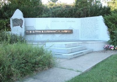 Jefferson County (Kentucky) Korean War Memorial image. Click for full size.
