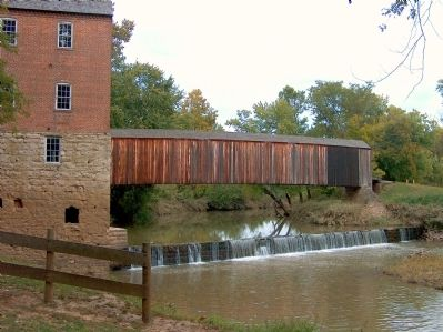 Bollinger Mill and Burfordville Covered Bridge image. Click for full size.