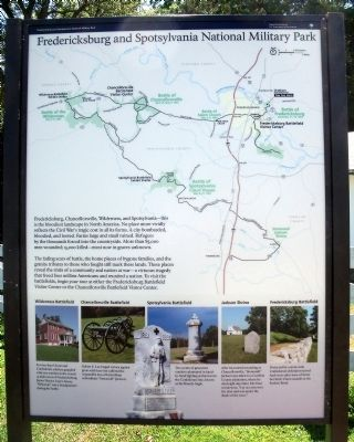Fredericksburg and Spotsylvania National Military Park Marker image. Click for full size.