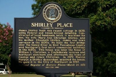 Shirley Place Marker image. Click for full size.