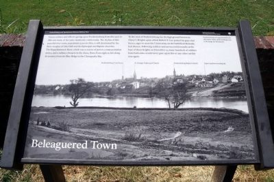 Beleaguered Town Marker image. Click for full size.